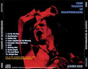 Free Talking of Heartbreaker Coatham 1972 back