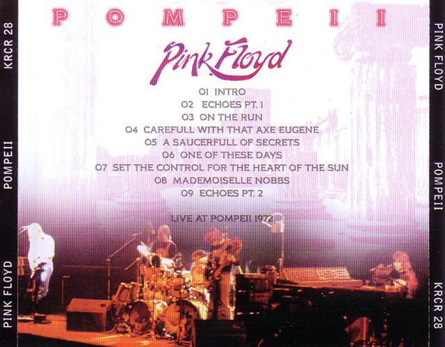 Pink Floyd / Pompeii / 1CD – GiGinJapan