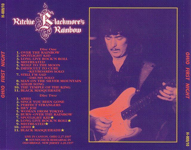 Vos bootlegs Rainbow . - Page 12 Ritchieblack-ohio1