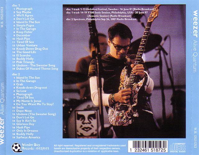 Weezer - Alive Quantum