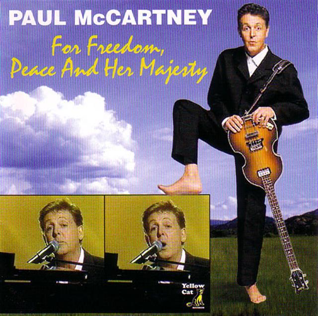 Paul McCartney For Freedom Peace And Her Majesty 1CD