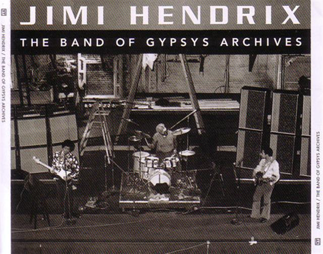 Jimi Hendrix The Band Of Gypsys Archives 3cd Giginjapan