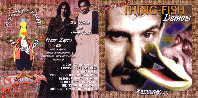 Frank Zappa Thing Fish Demos 2cd Giginjapan