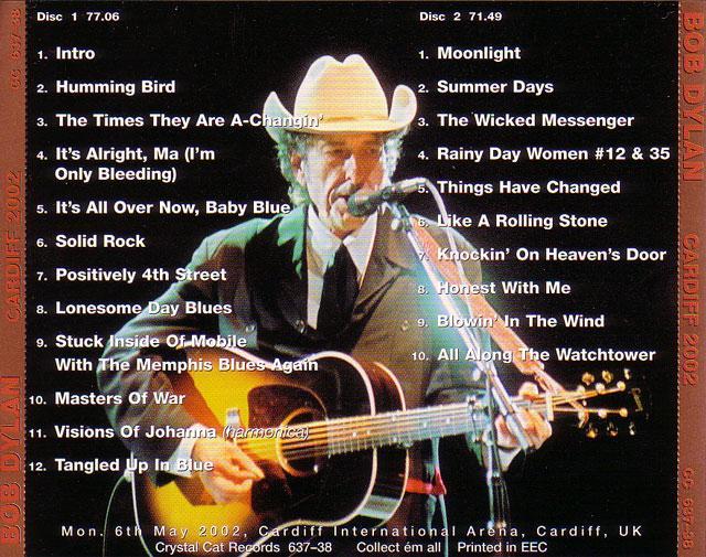 Bob Dylan - Cardiff 2002