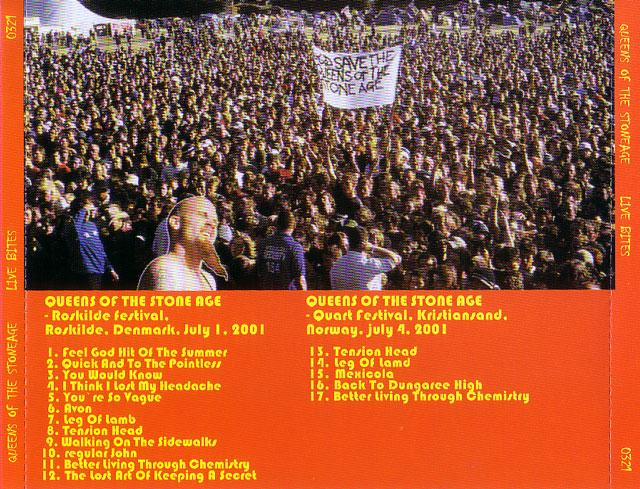 Queens of the Stone Age / Live Bites / 1CD – GiGinJapan