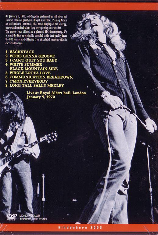 Mick Jagger 1980 Led Zeppelin – Royal...