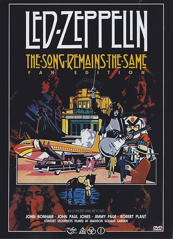 Led Zeppelin The Song Remains The Same