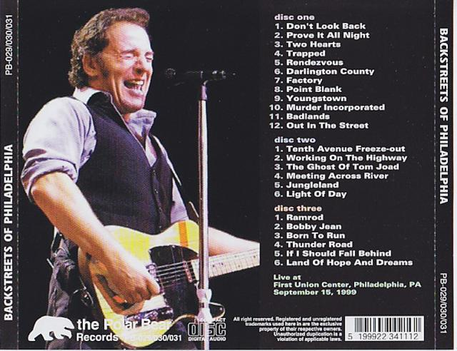 Bruce Springsteen & The E Street Band / Backstreets Of