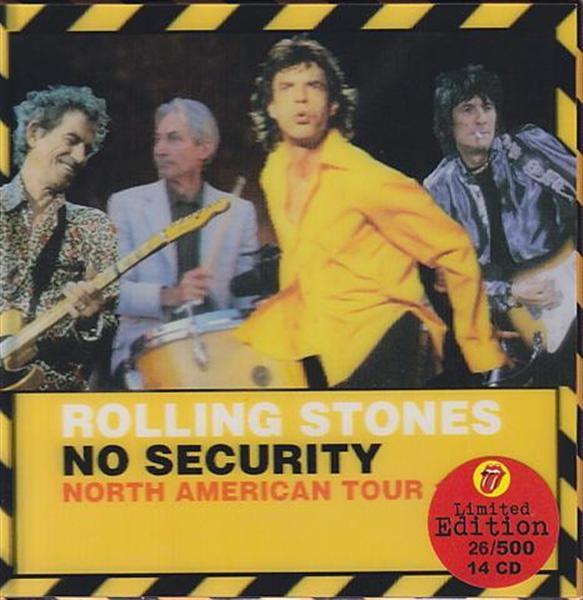Rolling Stones No Security Tour 1999 14cd Box Set