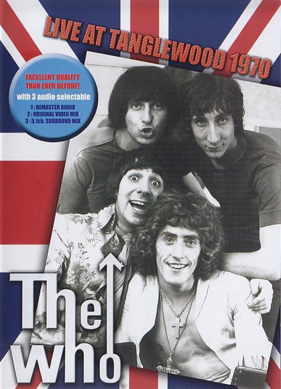 Who Live At Tanglewood 1970 1dvdr Giginjapan