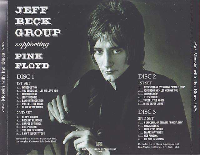 Jeff Beck Group Supporting Pink Floyd Messin With The Blues 3cd Giginjapan