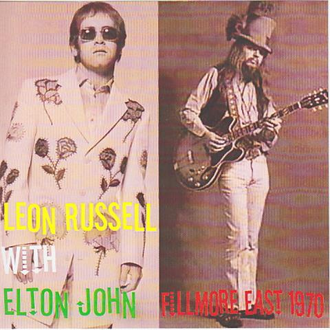 leon russell with elton john fillmore east 1970 2cdr