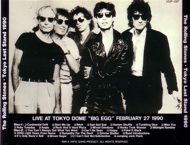 Rolling Stones Tokyo Last Stand 1990 2cd Giginjapan