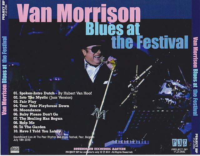 Van Morrison / Blues At The Festival / 1CDR