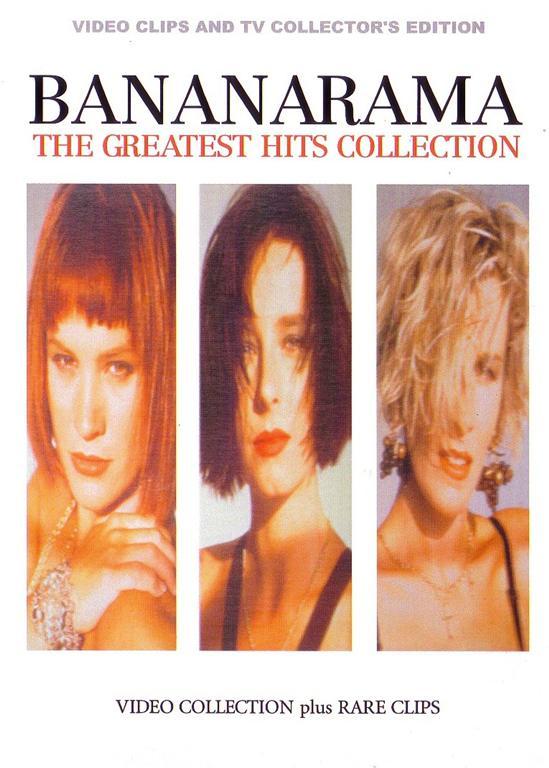 Bananarama The Greatest Hits Collection 1dvdr Giginjapan