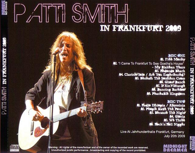 Patti Smith Frankfurt