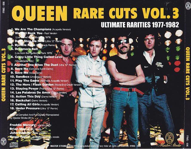 Queen Rare Cuts Vol 3 2cd Giginjapan