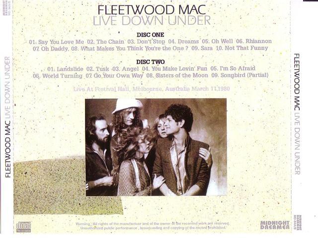 Fleetwood Mac / Live Down Under /2CDR