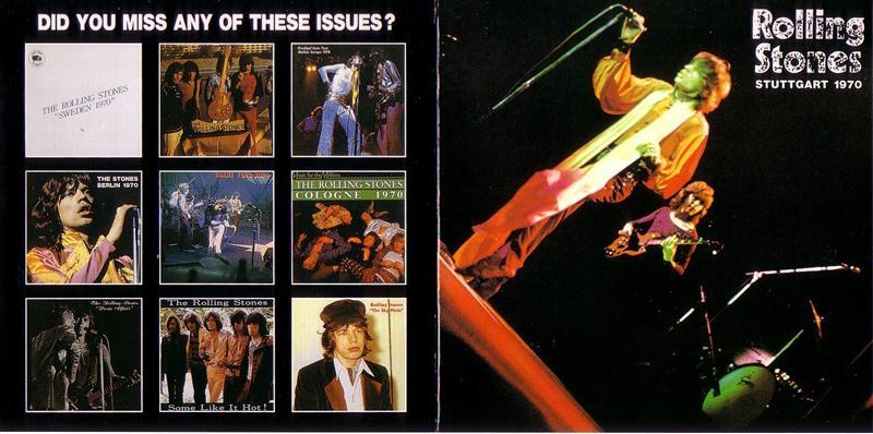 Rolling Stones / European Tour Stuttgart 1970 / 1CD ...