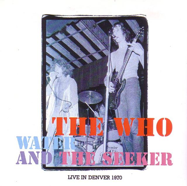Madison Square Garden: Who / Water And The Seeker /2CDR