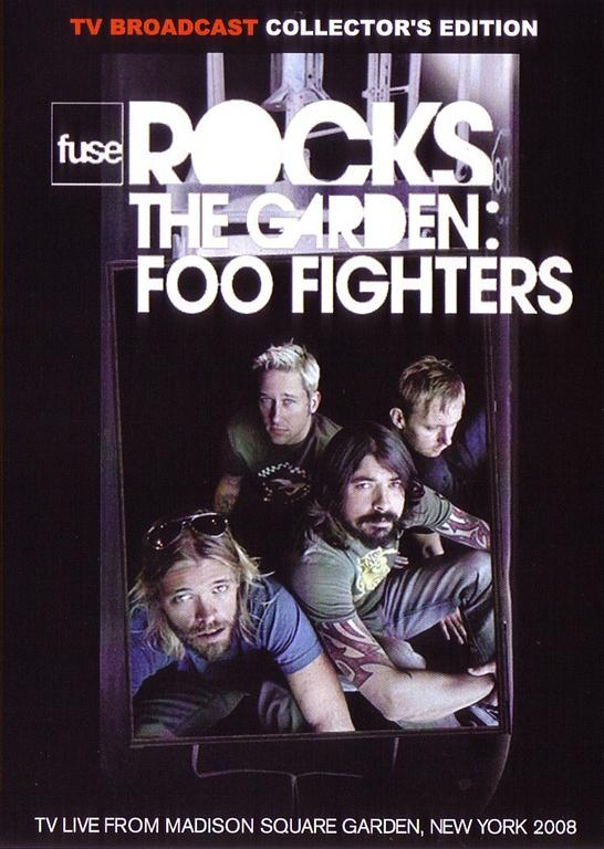Foo fighters fuse rocks the garden 1dvdr giginjapan - Foo fighters madison square garden ...