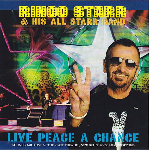 ringo starr his all starr band live peace a chance 2cdr. Black Bedroom Furniture Sets. Home Design Ideas