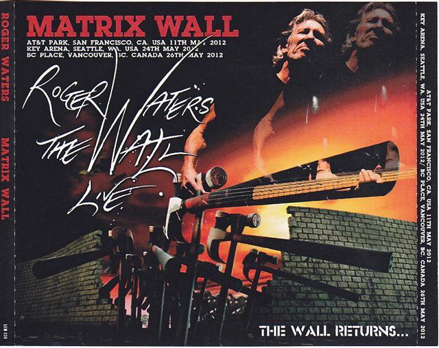 roger waters matrix wall 6cdr giginjapan. Black Bedroom Furniture Sets. Home Design Ideas