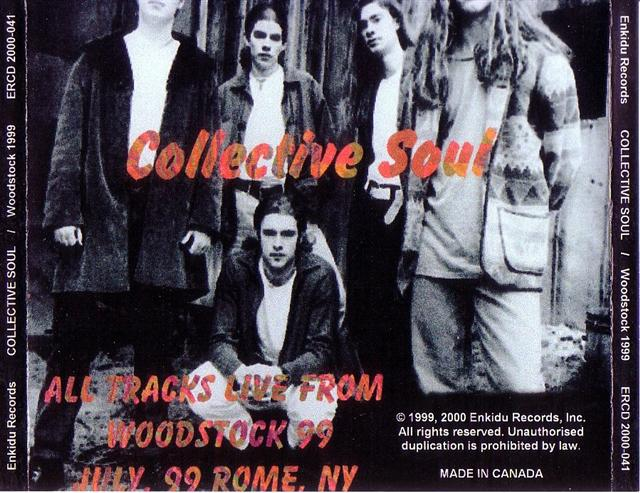 Collective Soul / Live At Woodstock 99 / 1CD – GiGinJapan