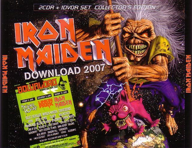 Iron Maiden / Download 2007 /2CDR+1DVDR – GiGinJapan
