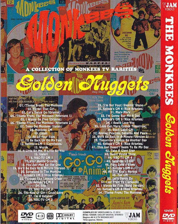 Madison Square Garden: Monkees / Golden Nuggets / 1DVDR