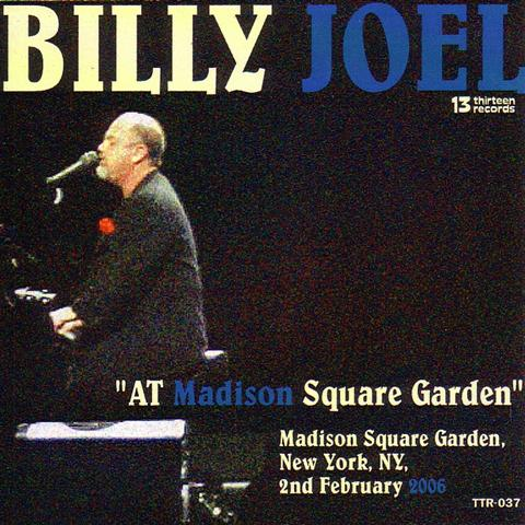 billy joel at madison square garden 2cdr