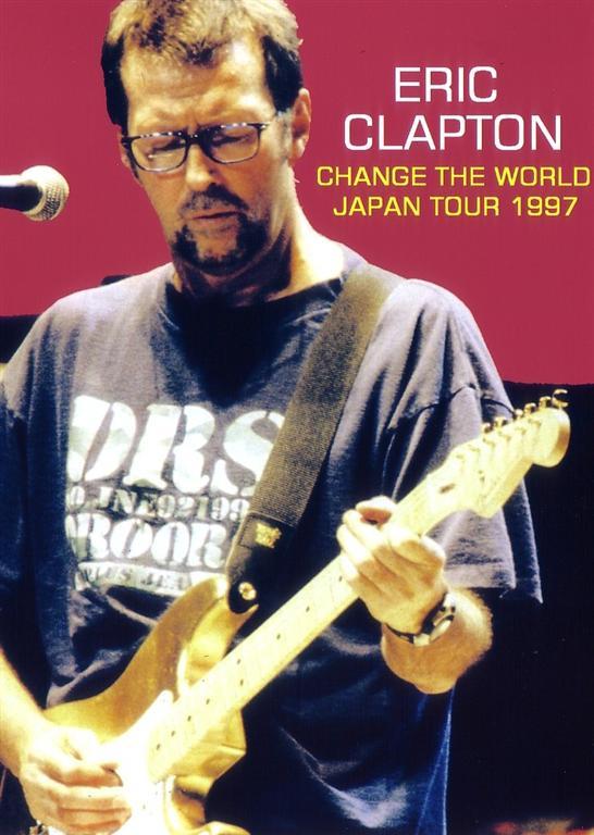 eric clapton change the world japan tour 1997 1dvdr giginjapan. Black Bedroom Furniture Sets. Home Design Ideas