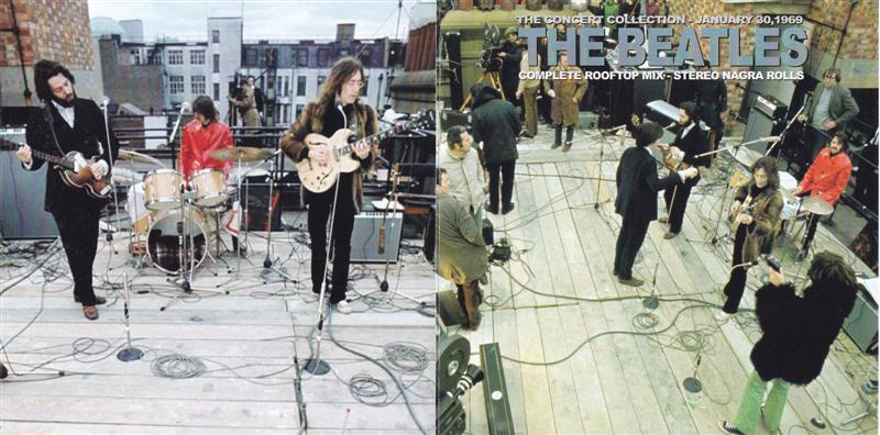 Beatles Complete Rooftop Mix Stereo Ngra Rolls 1cd