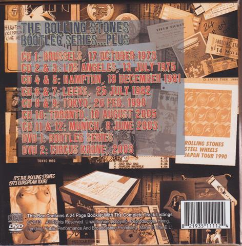 Rolling Stones / Bootleg Series Plus / 12CD+2DVD Box Set – GiGinJapan