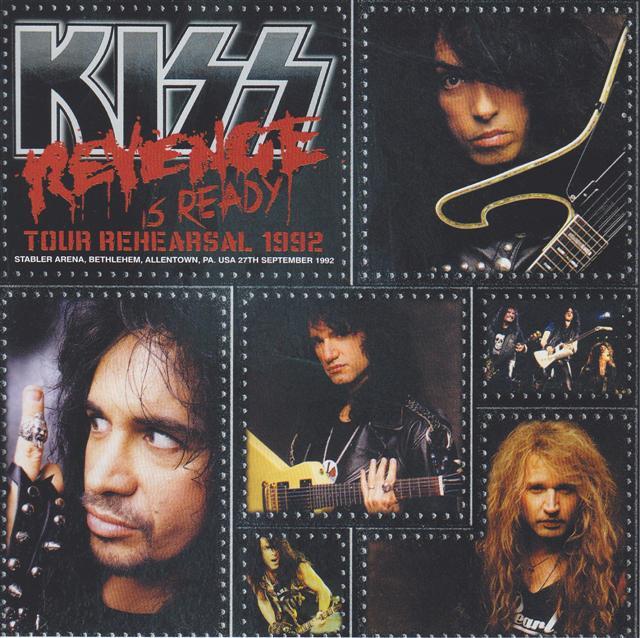Kiss / Revenge Is Ready Tour Rehearsal 1992 / 2CD – GiGinJapan