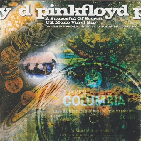 Pink Floyd A Saucerful Of Secrets Uk Mono Vinyl Rip