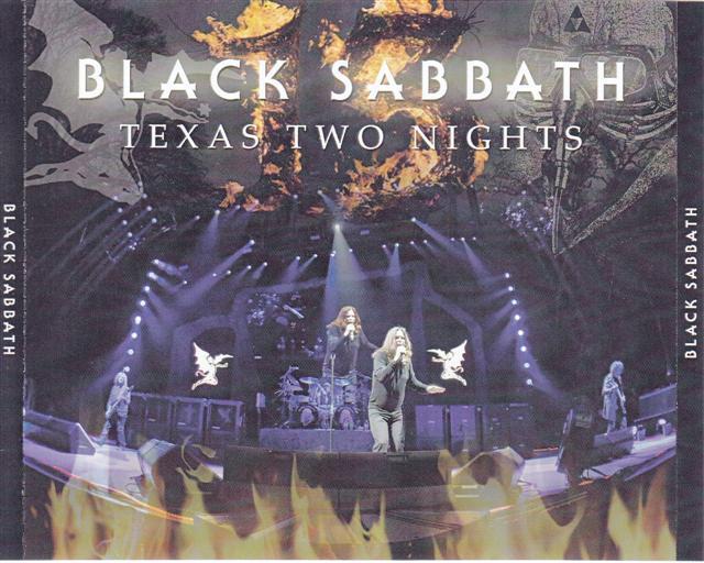 Black Sabbath / Texas Two Nights / 2CDR+1DVDR