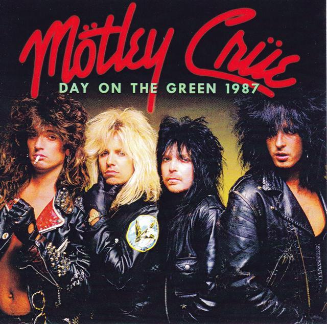 Motley Crue Day On The Green 1987 1cdr Giginjapan