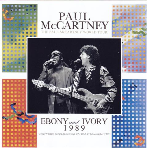 Paul McCartney / Ebony And Ivory 1989 / 2CD – GiGinJapan