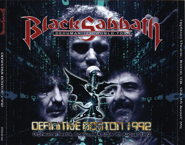 Black Sabbath / Definitive Boston 1992 / 4CD – GiGinJapan