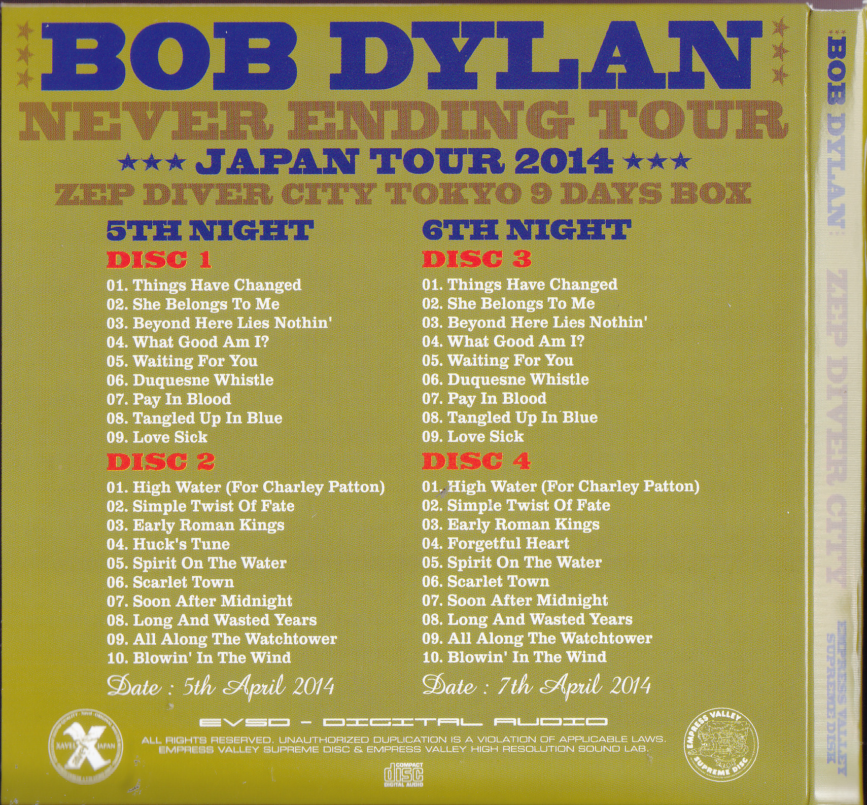 Bob Dylan Never Ending Tour  Review