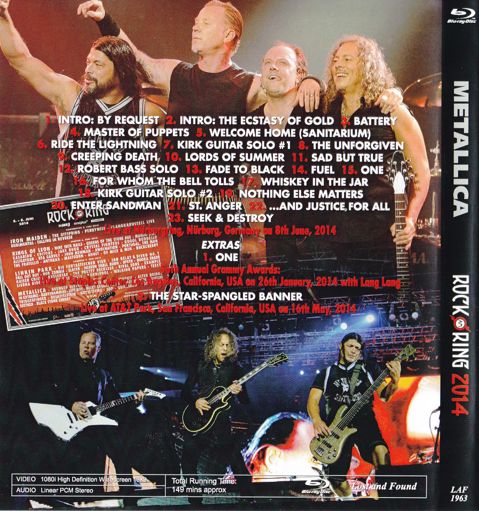 Metallica / Rock Am Ring 2014 ...