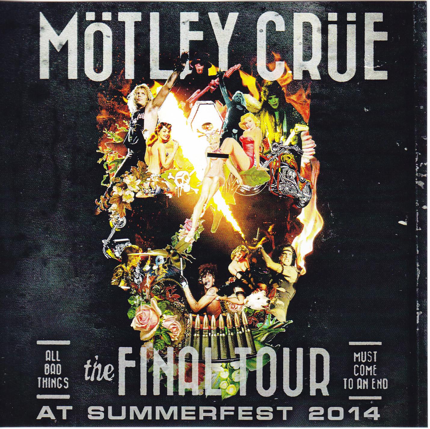 Motley Crue / The Final Tour At Summerfest 2014 / 2CDR