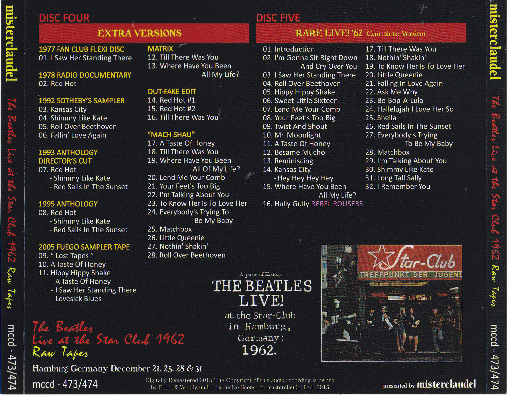 The beatles live at the star-club in hamburg germany 1962 rar | The