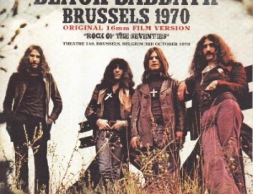 Black Sabbath / Brussels 1970 Original 16MM Film Version / 1DVDR