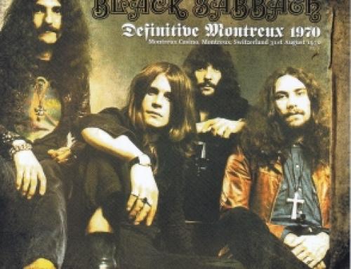 Black Sabbath / Definitive Montreux 1970 / 1CD