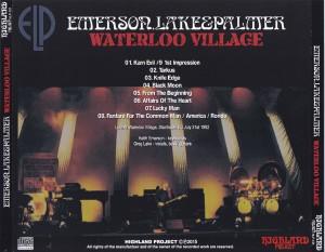 Emerson Lake Amp Palmer Warterloo Village 1cdr Giginjapan