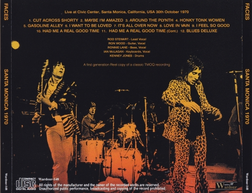 Faces / Santa Monica 1970 / 1CD