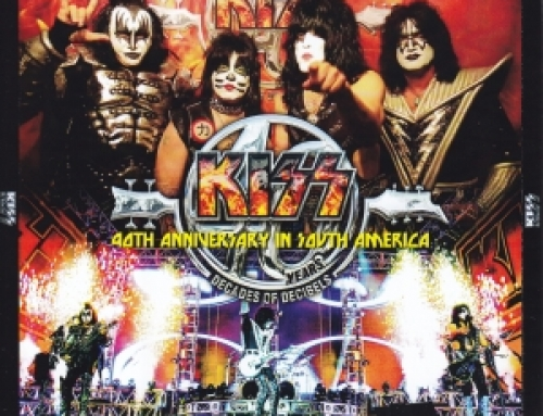 KISS / 40th Anniversary In South America / 2CDR + 1DVDR