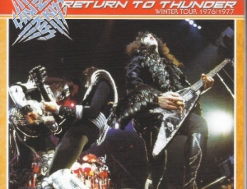 KISS / Return To Thunder / 1CD Digipak